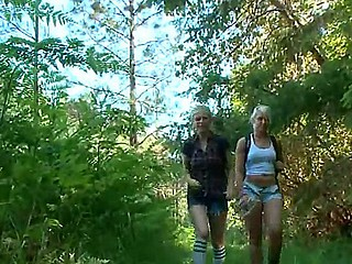 Anikka Albrite plus Penny Pax,James Deen in search be advantageous to forest adventures