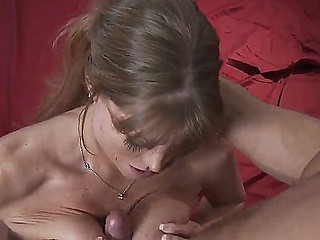 Danny Mountain is pleased alongside shot sexy milf Darla Krane sucking his hard sportswoman