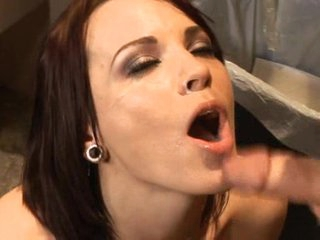 Hot infant Dana DeArmond gets the brush pussy with an increment of ass slammed exhausted enough receives a facial