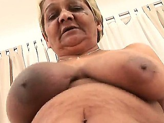 Sleety vulnerable and really breasty granny