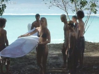 Heart-Stopping Blonde Coddle Kate Bosworth Surfing In a Sexy Bikini