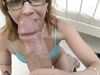 Conceitedly Paloma has oral-job training Check