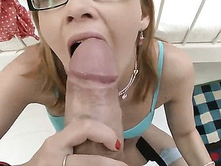 Tremendous Paloma has oral-job training Check