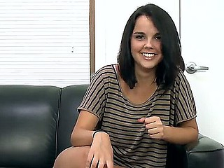 Dillion Harper visits the agent office