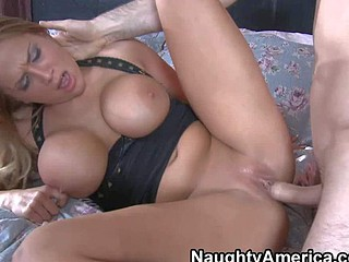 Alanah Rae is a sex obsessed dame with biggest tits.