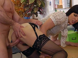 Bobbi Starr is the sexiest office within reach the office. She