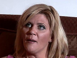 Breasty blonde Ginger Lynn gives a