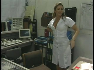 Excited Retro Nurse Shanna McCullough Masturbating