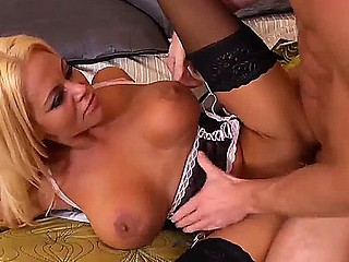 Nikita Von James is exceptional blonde