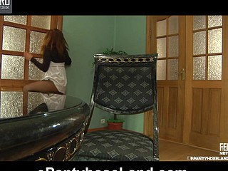 Jessica back belt up video