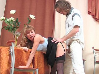 Alice&Mike nylon fucking action