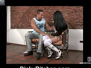 Brenda&John naughty transsexual movie scene