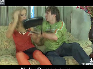 Irene&Rolf great nylon action