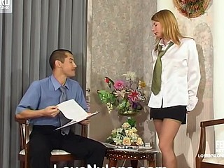 Alice&Nathan nylon fucking action