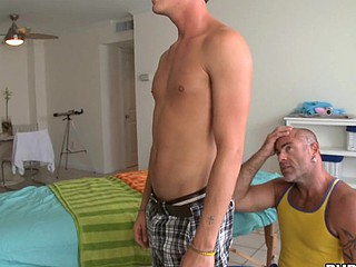 Cute boy wants his ass drilled