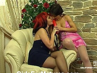 Dorothy&Subrina old lesbo truss