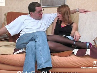 Alice&Leonard beauty and daddy video scene