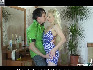 Martha&Rolf horny pantyhose movie