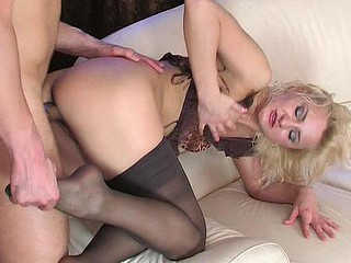 Caroline&Clifford nylon footsex movie