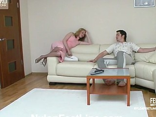 Irene&Adam nylon footsex photograph chapter