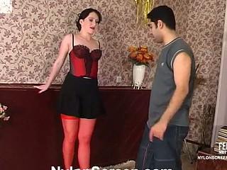 Gwendolen&Sebastian horny nylon videotape