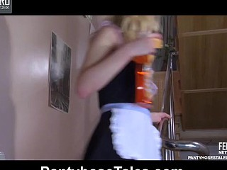 Paulina&Rolf nasty hose movie scene