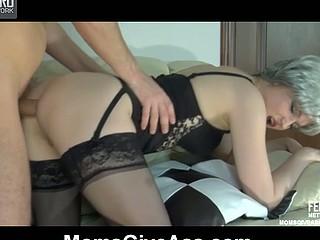 Rita&Rolf anal older sex movie