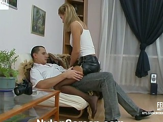 Antoinette&Maurice sexy nylon movie