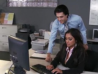 Priya and Xander are one as well as the other fighting for the same position at Glubbert Financial. One As Well As The Other are equally qualified, equally ambitious and thus, equally execrate every other as result. In a battle of wits, bumpers and dicks the 2 proceed to fuck every others brains out all over the office in order to settle the score, one time and for all. Who will come out triumphant?