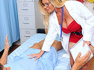 Ramon has accused Dr. Summers of taking advantage of him in the patient room earlier that day. This Hottie is shown some damaging evidence: a surveillance camera has caught her fucking Ramon. This Hottie is compulsory to confess the shocking truth: that babe made Ramon fuck her, and this babe loved each second.