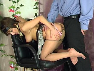 Madeleine&Monty horny nylon feet movie scene