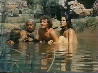 Foxy Belinda Balaski and Lynda Carter Swimming Topless in a Hot Scene