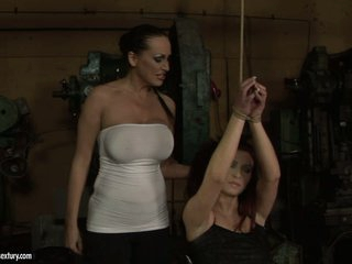 Mandy Bright hot sweetheart tie the hand of lusty chick