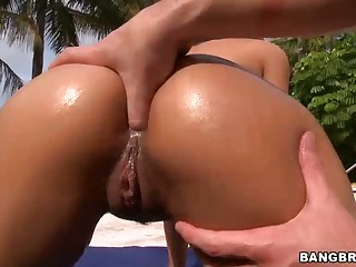 Abella Anderson gets her perfect ass fingered and licked