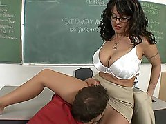 I fucked my big ass teacher