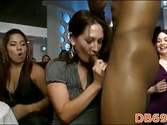 Black stripper gets sucked off