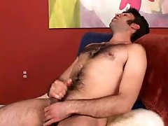 Handsome str8 hairy boy follows my instructions and shows his stuff and loves to talk about pussy
