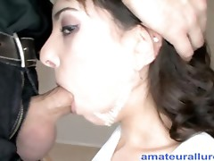 Petite Beauty Can't Live Without Anal And Swallowing Cum