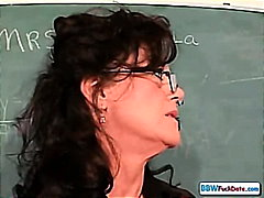 Mature Chubby Teacher